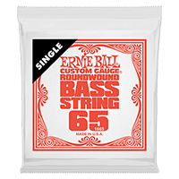.065 Nickel Wound Electric Bass String Single Thumb
