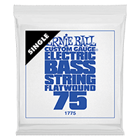 .075 Flatwound Electric Bass String Single Thumb