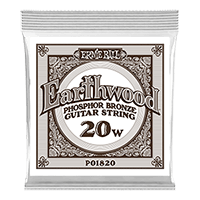 .020 Earthwood Phosphor Bronze Acoustic Guitar String Thumb