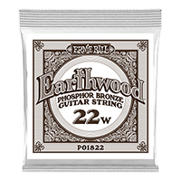.022 Earthwood Phosphor Bronze Acoustic Guitar Strings 6 Pack Thumb