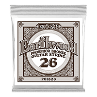 .026 Earthwood Phosphor Bronze Acoustic Guitar String Thumb