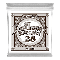 .028 Earthwood Phosphor Bronze Acoustic Guitar String Thumb
