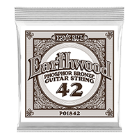 .042 Earthwood Phosphor Bronze Acoustic Guitar String Thumb