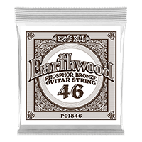 .046 Cuerda Guitarra Acústica Earthwood Phosphor Bronze. Pack de 6 Thumb