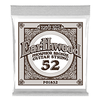 .052 Earthwood Phosphor Bronze Acoustic Guitar Strings 6 Pack Thumb