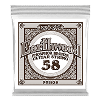 .058 Earthwood Phosphor Bronze Acoustic Guitar String Thumb