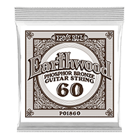 .060 Cuerda Guitarra Acústica Earthwood Phosphor Bronze. Pack de 6 Thumb