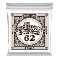 .062 Earthwood Phosphor Bronze Acoustic Guitar String Thumb