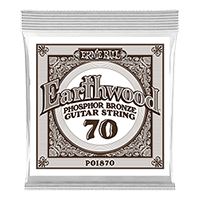 .070 Cuerda Guitarra Acústica Earthwood Phosphor Bronze. Pack de 6 Thumb