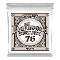 .076 Earthwood Phosphor Bronze Acoustic Guitar String Thumb