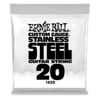 .020 Stainless Steel Wound Electric Guitar Strings 6 Pack Thumb