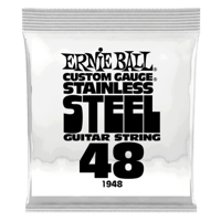 .048 Stainless Steel Wound Electric Guitar Strings 6 Pack Thumb