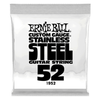 .052 Stainless Steel Wound Electric Guitar Strings 6 Pack Thumb