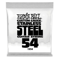 .054 Stainless Steel Wound Electric Guitar Strings 6 Pack Thumb