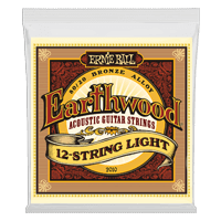 Earthwood Light 12-Cuerdas 80/20 Bronze Guitarra Acústica Calibre 9-46 Thumb