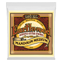 Earthwood Mandolin Medium 圈型头 80/20 黄铜套弦 Thumb