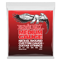 Medium Nickel Wound w/ wound G Guitarra Eléctrica Calibre 13-56 Thumb