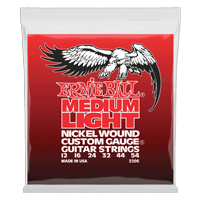 Medium Light Nickel Wound w/ wound G Guitarra Eléctrica Calibre 12-54 Thumb