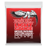 Light Electric Wound w/ wound G Guitarra Eléctrica Calibre 11-52 Thumb