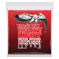 Light 12-String Nickel Wound E-Gitarrensaiten Thumb