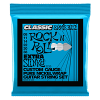 Extra Slinky Classic Rock n Roll Pure Nickel Wrap Guitarra Eléctrica Calibre 8-38 Thumb