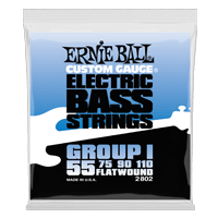 Flatwound Group I Electric Bass Strings - 55-110 Gauge Thumb
