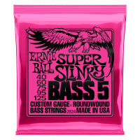 Cordas para Baixo Super Slinky 5-String Nickel Wound Thumb