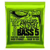 Regular Slinky 5-String Nickel Wound E-Bass Saiten Thumb
