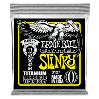 Beefy Slinky Coated Titanium RPS Electric Guitar Strings - 11-54 Gauge Thumb