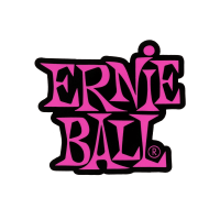 Stacked Pink Ernie Ball Logo Sticker Thumb
