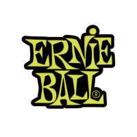 Stacked Green Ernie Ball Logo Sticker Thumb