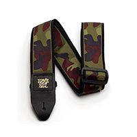 Traditional Camo Guitar Strap Thumb