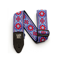 Morning Blossom Jacquard Guitar Strap Thumb