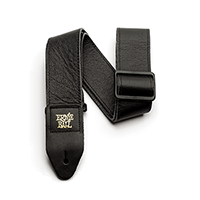 "2"" Tri-Glide Italian Leather Strap - Black Thumb"
