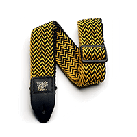 Ernie Ball Yellow Jacket Polyspun Strap Thumb