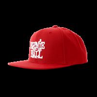 Boné vermelho com logo Ernie Ball em branco Thumb