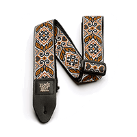 Ernie Ball Tribal Brown Jacquard Strap Thumb