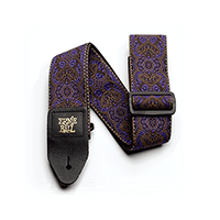 Ernie Ball Purple Paisley Jacquard Strap Thumb