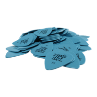 Heavy Blue Cellulose Picks bag of 144 Thumb