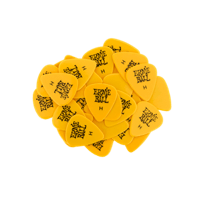 Heavy Yellow Picks, 144er Packung Thumb