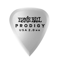 2.0mm白色标准 Prodigy 拨片6片装 Thumb