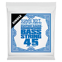 .045 Super Long Scale Nickel Wound Electric Bass String Single Thumb