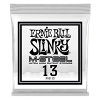 .013 M-Steel Plain Electric Guitar Strings 6 Pack Thumb