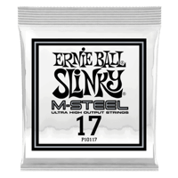 .017 M-Steel Plain Electric Guitar Strings 6 Pack Thumb