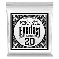 .020 Everlast Coated Phosphor Bronze Akustik-Gitarrensaite 6er Pack Thumb