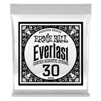 .030 Everlast Coated Phosphor Bronze Akustik-Gitarrensaite 6er Pack Thumb