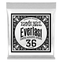 .036 Everlast Coated Phosphor Bronze Akustik-Gitarrensaite 6er Pack Thumb
