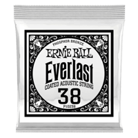 .038 Everlast Coated Phosphor Bronze Akustik-Gitarrensaite 6er Pack Thumb