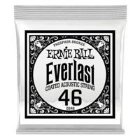 .046 Everlast Coated Phosphor Bronze Akustik-Gitarrensaite 6er Pack Thumb