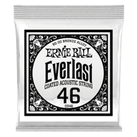 .046 Everlast Coated 80/20 Bronze Akustik-Gitarrensaite 6er Pack Thumb